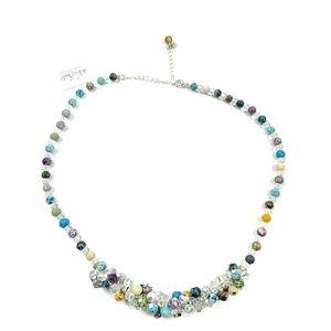 Vera Bradley Necklace Multi-Color Chunky Beads